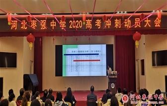 枣强中学2020高考冲刺动员大会